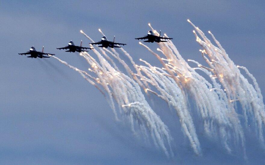 Rusijos karinės pratybos prie Juodosios jūros