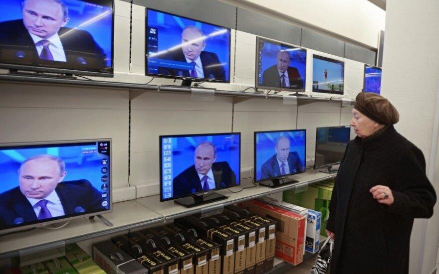 Pirmą kartą ES: Lietuva stabdo rusiško kanalo transliacijas