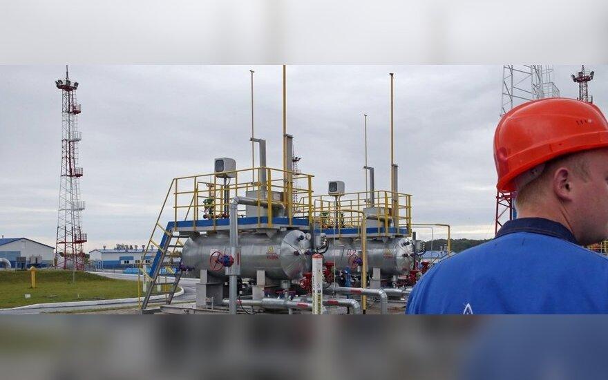 """Derybų su """"Gazprom"""" greitis priklausys nuo Briuselio"""