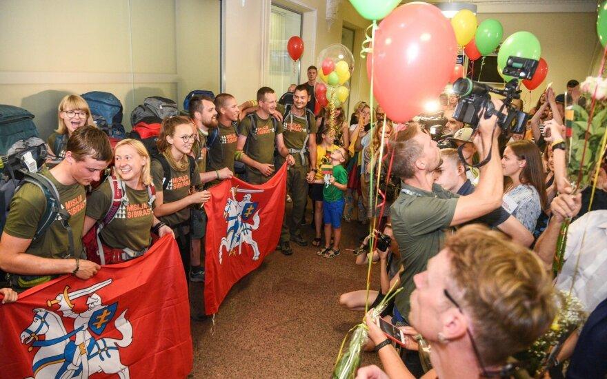 Mission Siberia 2018 back to Lithuania