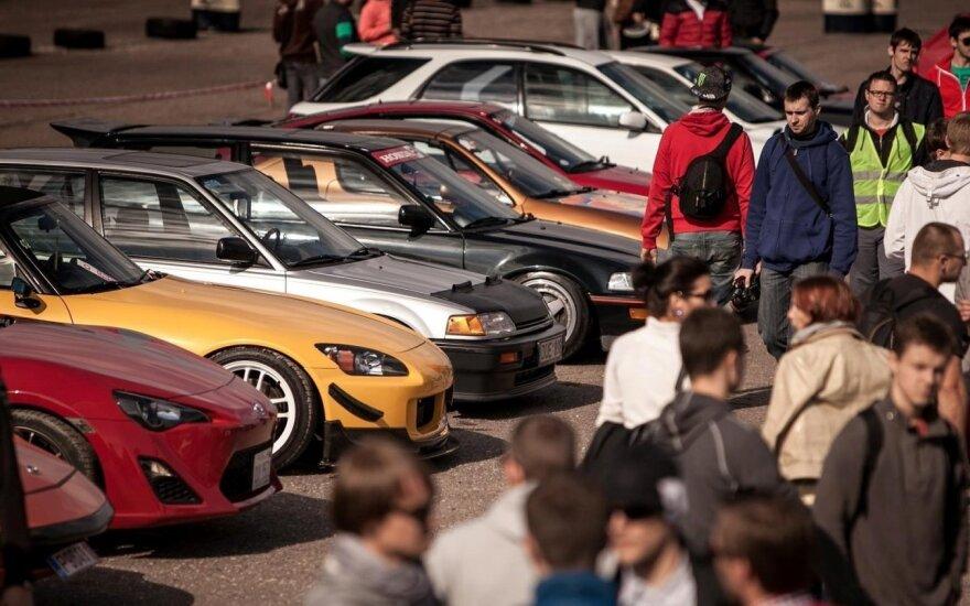 Japoniškų automobilių gerbėjai susiburs