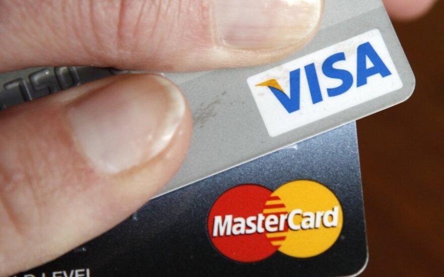Kredito kortelės, mokėjimo kortelės