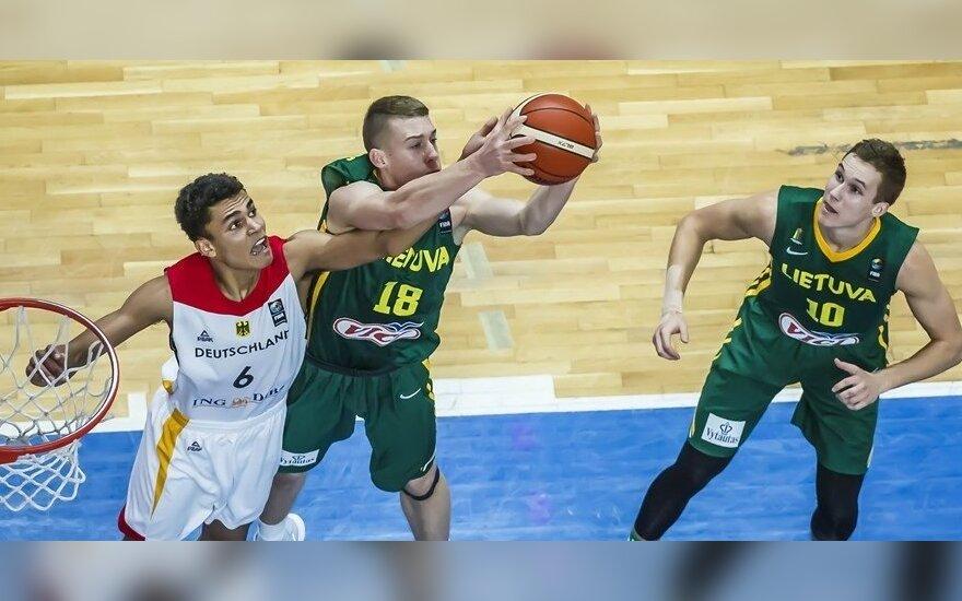 Krepšinis: Lietuva U19 – Vokietija U19