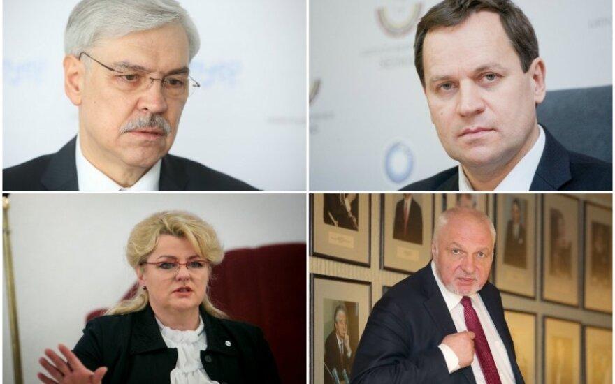 Z. Balčytis, V. Tomaševskis, A. Pabedinskienė, V. Mazuronis