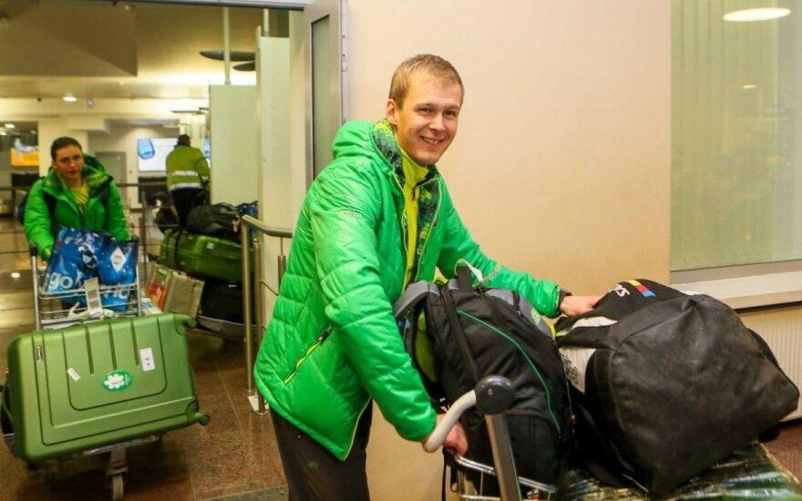 Olimpinė sensacija T. Kaukėnas slides keičia į dviratį