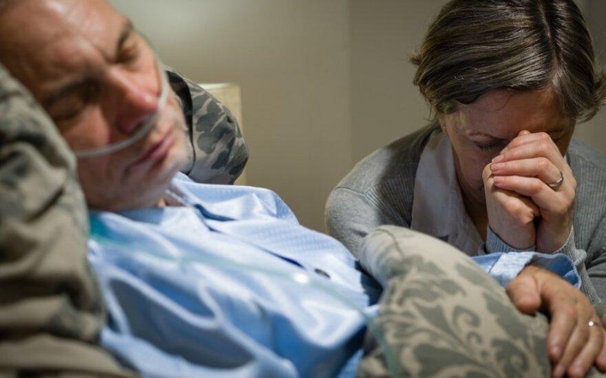 Ministerija siekia palengvinti sunkių ligonių buitį