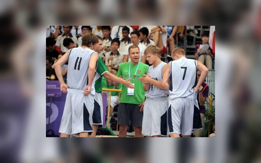 Lietuvos krepšinio rinktinė jaunimo olimpiadoje