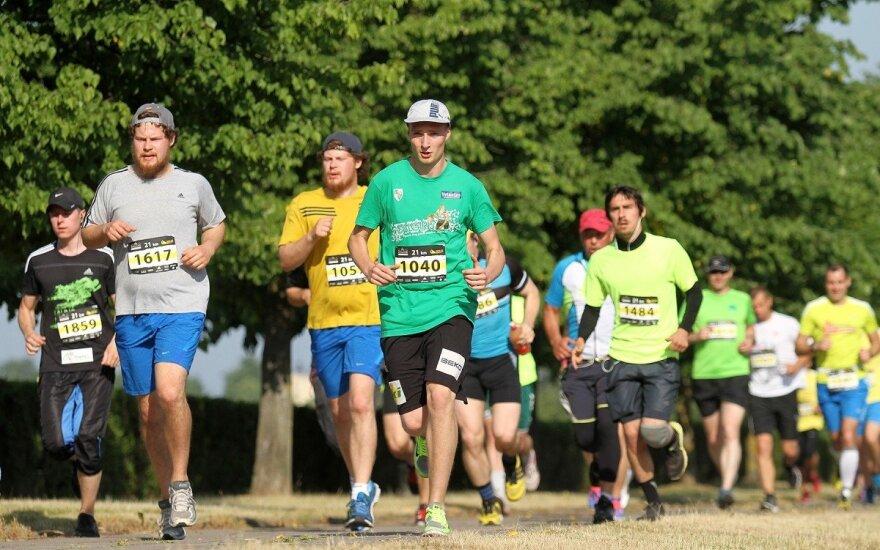 """Kauno maratonas 2015"""