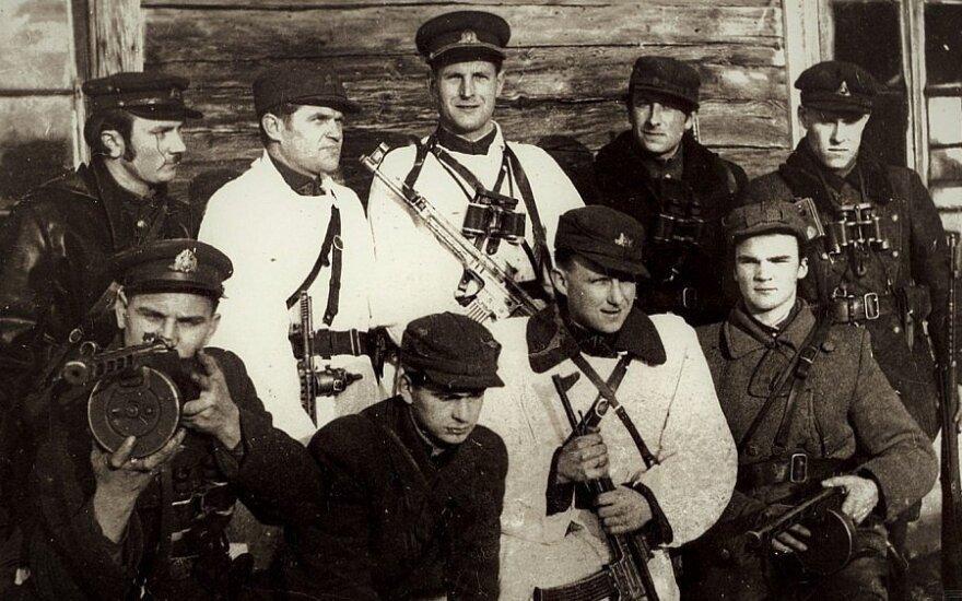 Pietų Lietuvos srities partizanai pakeliui į Lietuvos partizanų vadų susirinkimą, Okupacijų ir laisvės kovų muziejaus nuotr