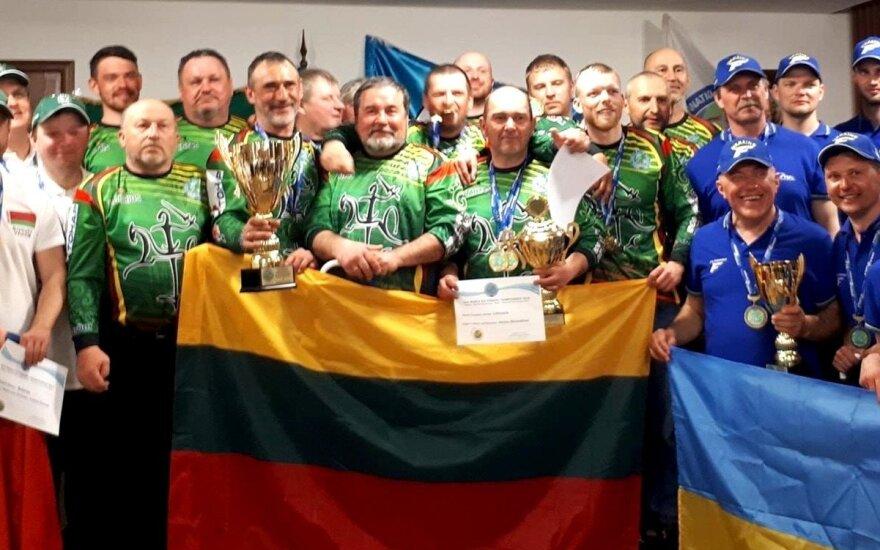 Lietuvių rinktinė Pasaulio poledinės žūklės čempionate
