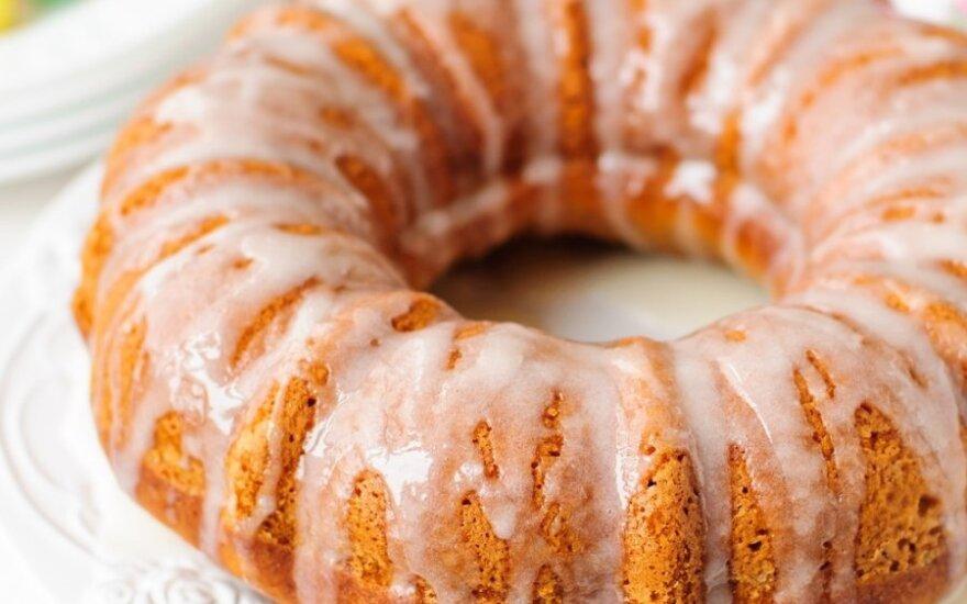 YPATINGAI GARDUS morkų pyragas