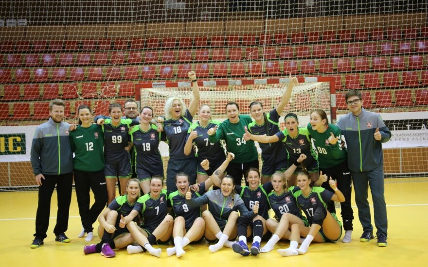 Lietuvos rankinio moterų rinktinė