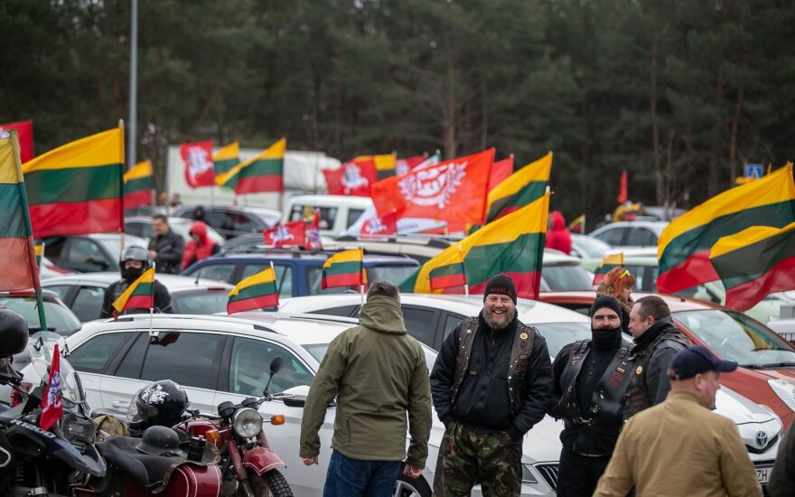 Car parades replace traditional March 11 nationalist march