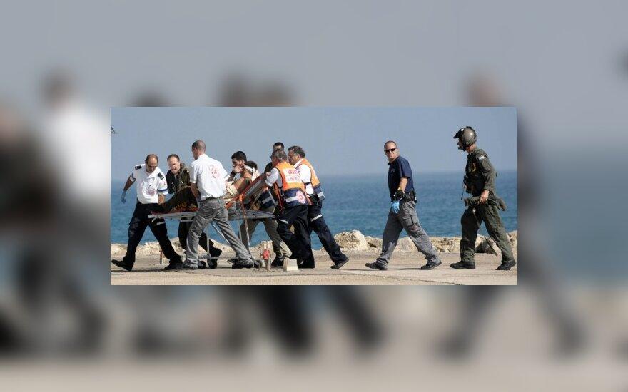 Izraelis deportuoja Gazos Ruožą laivais mėginusius pasiekti aktyvistus