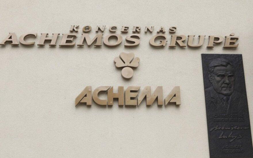 """""""Achemos"""" pelnas pernai augo keturiskart"""