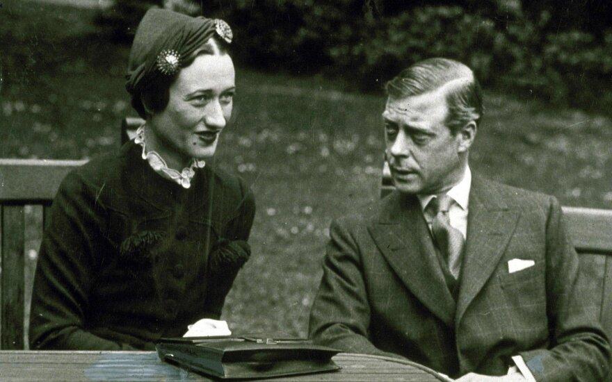 Velso princo Edvardo ir Wallis Simpson gyvenimo akimirkos