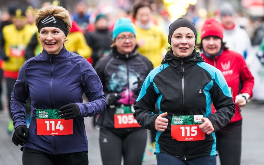Ekspertė pataria: ką būtina žinoti bėgiojantiems žiemą