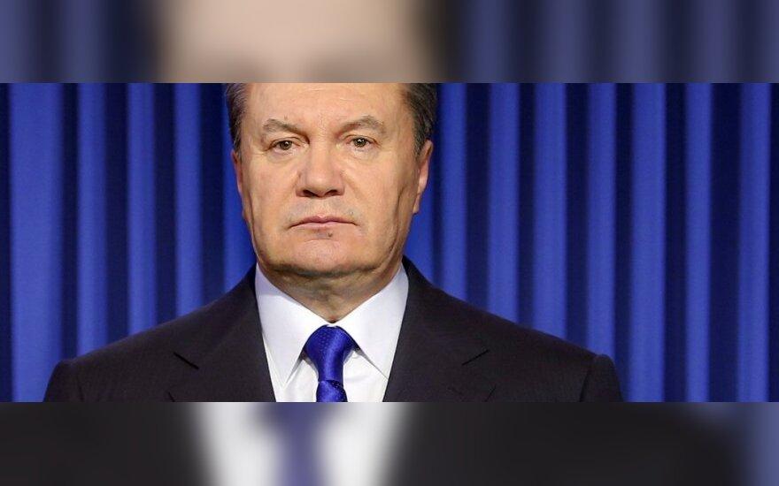 Ukrainoje – prieštaringos žinios apie V. Janukovyčiaus buvimo vietą