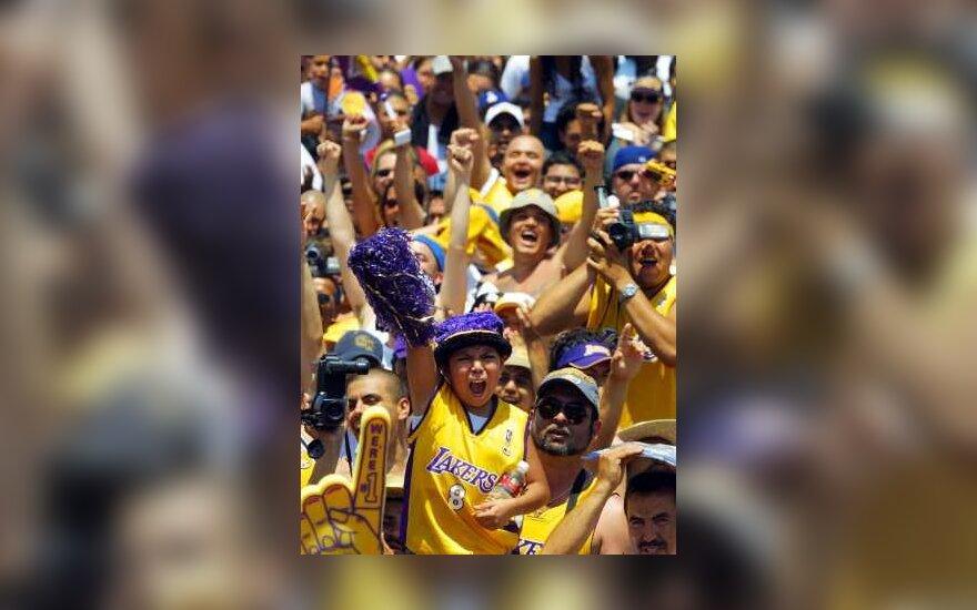 """Lakers"" gerbėjai"