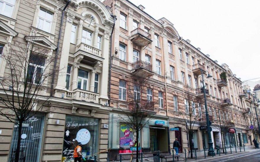 Teismo išvada: negalima deklaruoti gyvenamosios vietos bute Gedimino prospekte