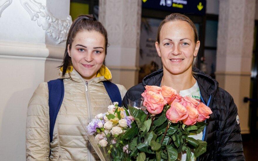 Simona Krupeckaitė ir Miglė Marozaitė