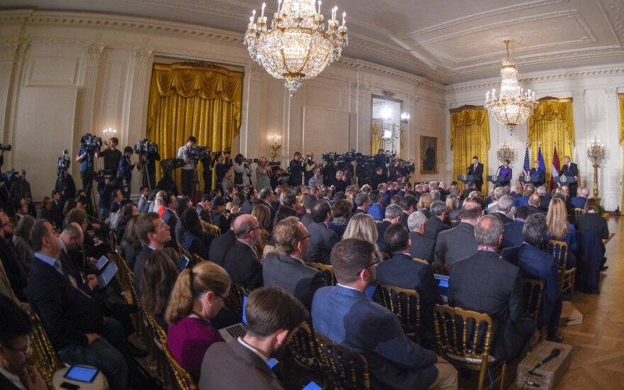 Prezidentė Vašingtone susitinka su JAV Prezidentu Donaldu Trumpu ir dalyvauja Baltijos šalių bei JAV viršūnių susitikime