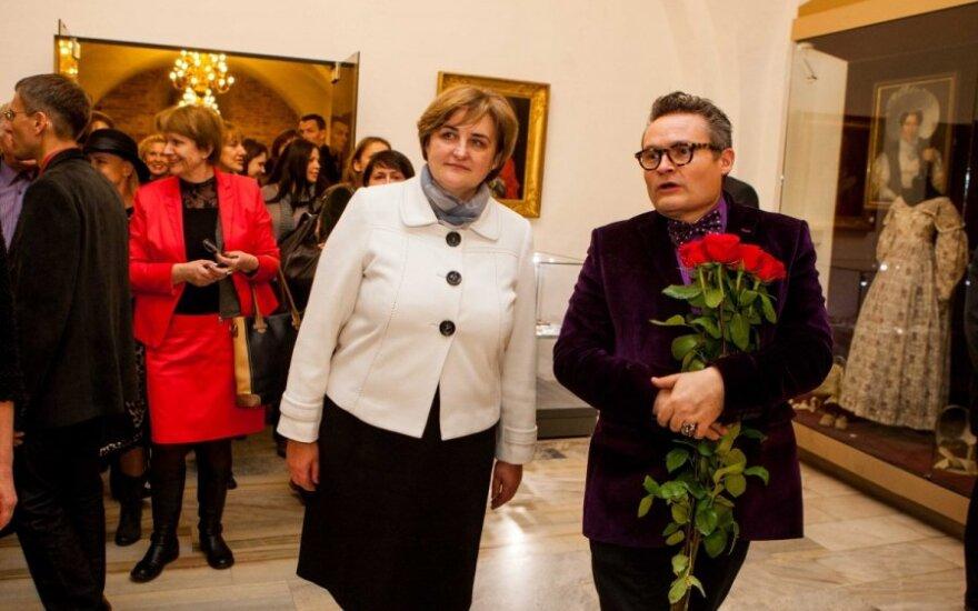 Loreta Graužinienė ir Aleksandras Vasiljevas