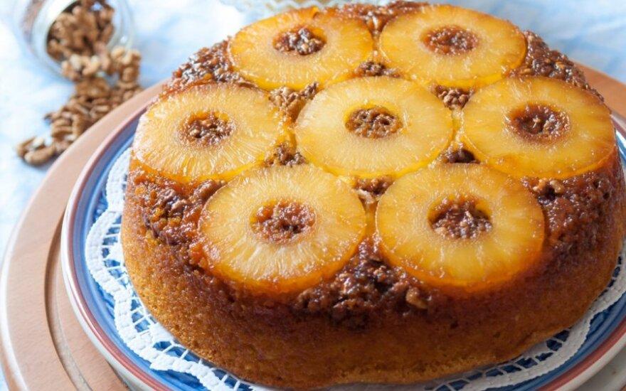 Havajietiškas ananasų pyragas