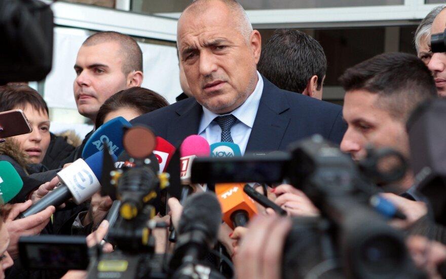 Bulgarijos ministras pirmininkas Boiko Borisovas