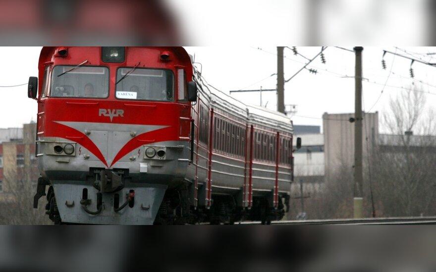 Geležinkelio stotyje laukė nemalonus netikėtumas