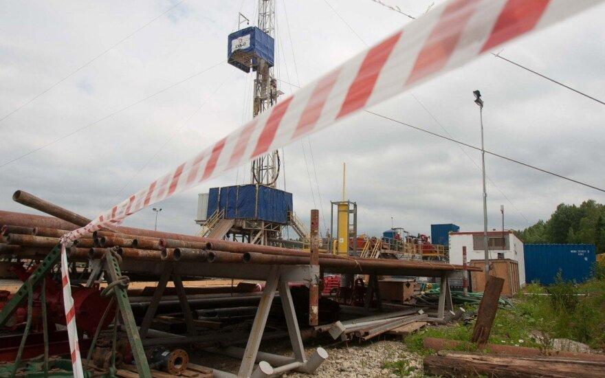 Naftos ir dujų paieškos platforma Šilutės rajone