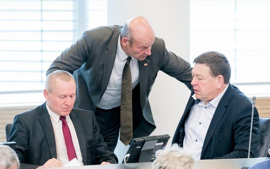 Petras Čimbaras, Algis Strelčiūnas, Valentinas Bukauskas