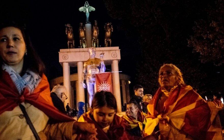 Referendumo Makedonijoje priešininkai
