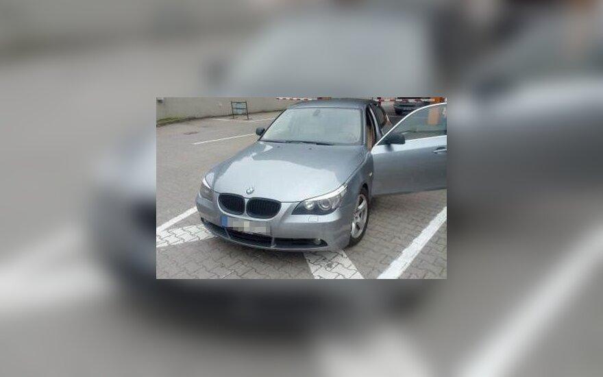 Italų trejus metus ieškomą BMW surado Lietuvos pasieniečiai