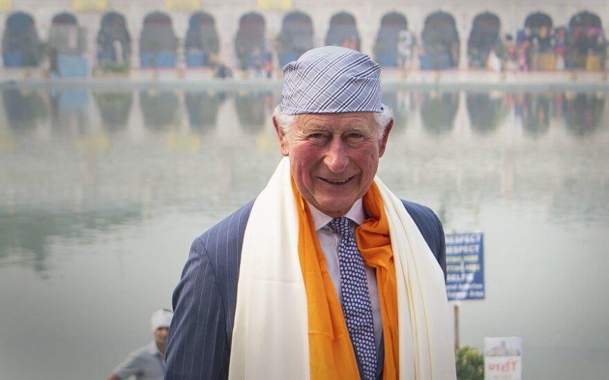 Prncas Čarlzas Naujajame Delyje