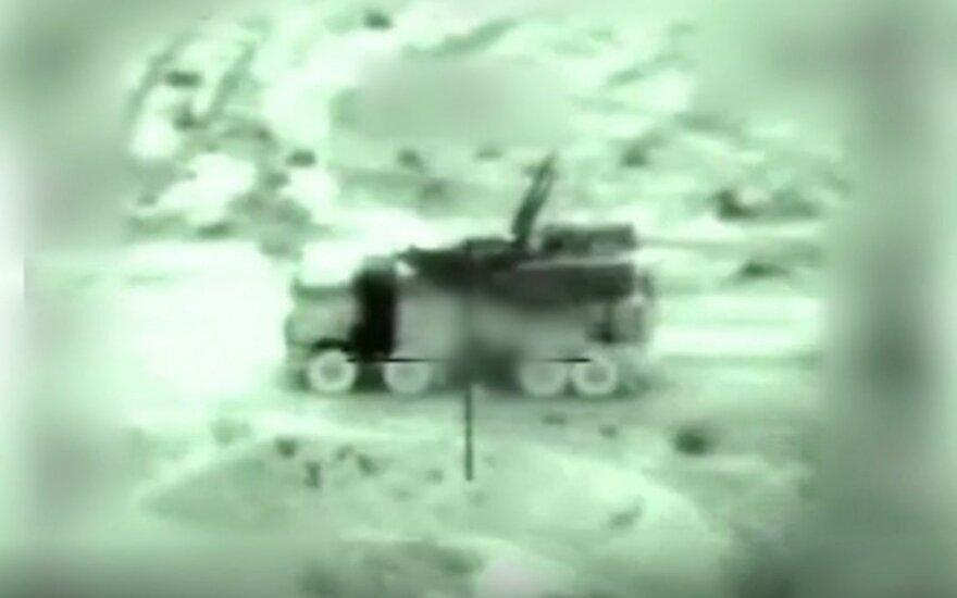 Izraelio aviacija Sirijoje atakavo Irano pajėgas