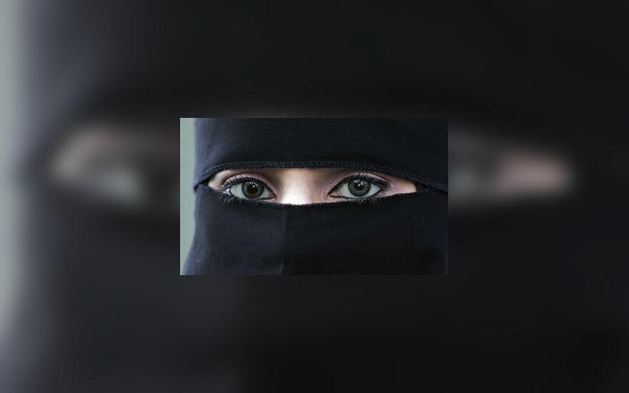 Nikabas, niqab, musulmoniškas šydas