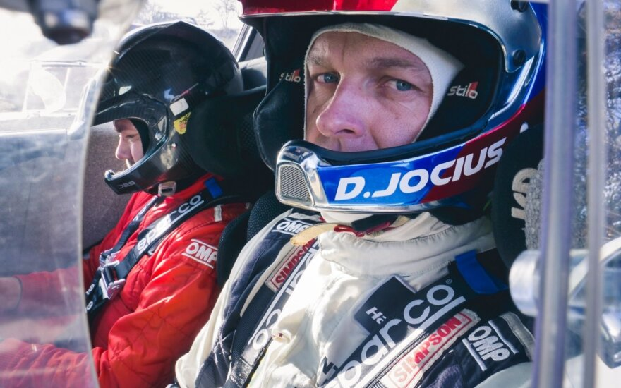 Deividas Jocius startuos Pasaulio ralio čempionate su WRC bolidu