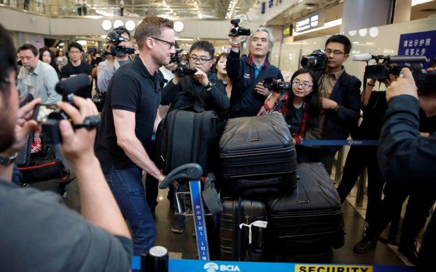 Užsienio žurnalistai atvyko į Šiaurės Korėją dalyvauti branduolinių bandymų vietos uždarymo ceremonijoje