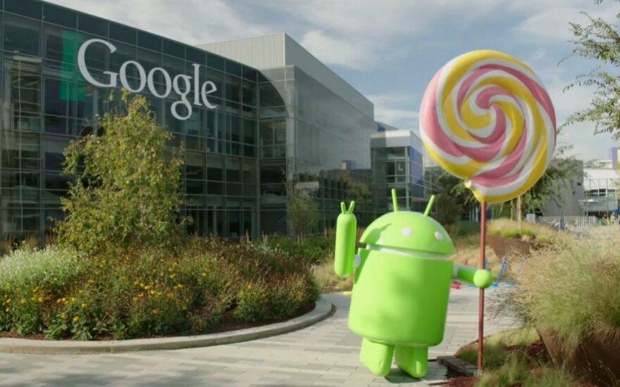 """Android 5.0 Lollipop"" statulos atidengimas"