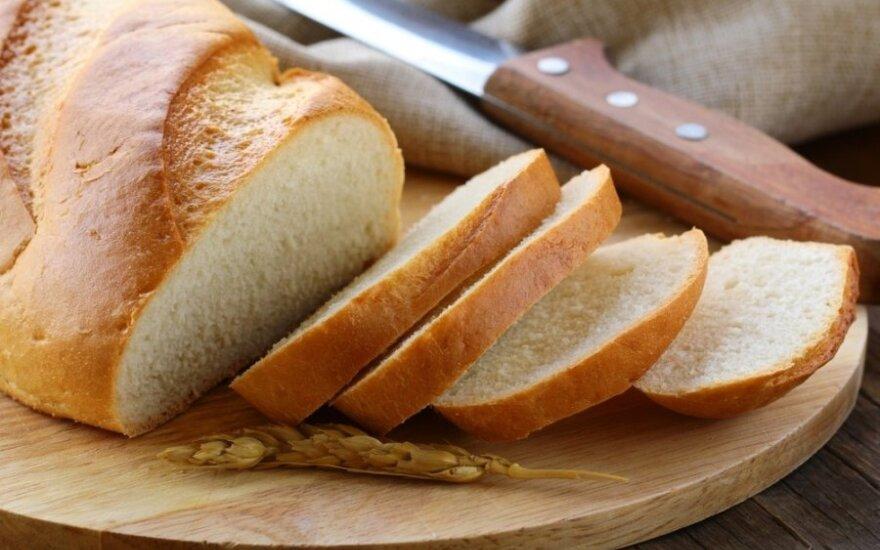 Kodėl baltos duonos riekė yra blogiau nei riebalai