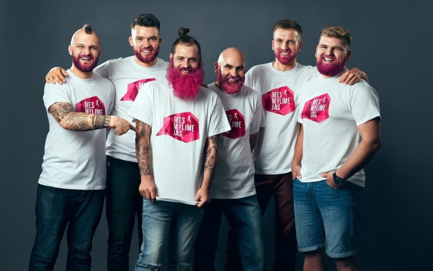 Kodėl kauniečiai vyrai pradėjo dažytis barzdas?