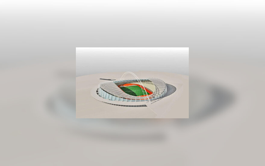 Nacionalinis stadionas Vilniuje II