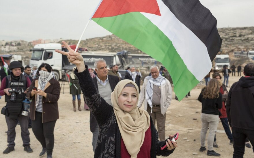 Palestiniečiai svarsto atidaryti ambasadą Vilniuje, prašo pripažinti valstybę