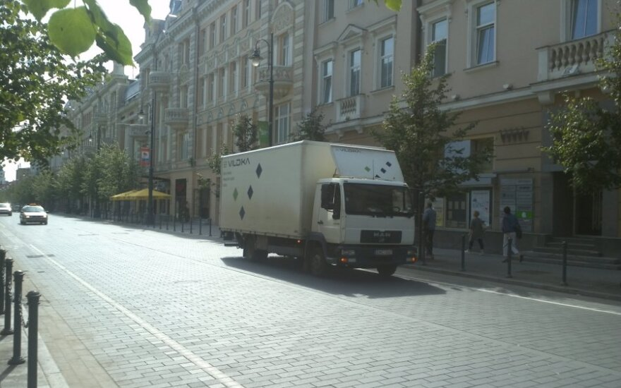 Vilniuje, Gedimino pr. 2011-07-25