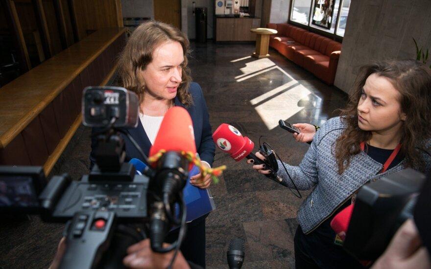 Vainiutės teikimas į Seimo kontrolierius piktina opoziciją: kvepia piktnaudžiavimu