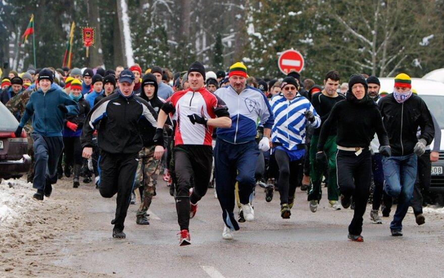"""Laisvės kovotojų atminimas bus pagerbtas tradiciniu bėgimu """"Gyvybės ir mirties keliu"""""""