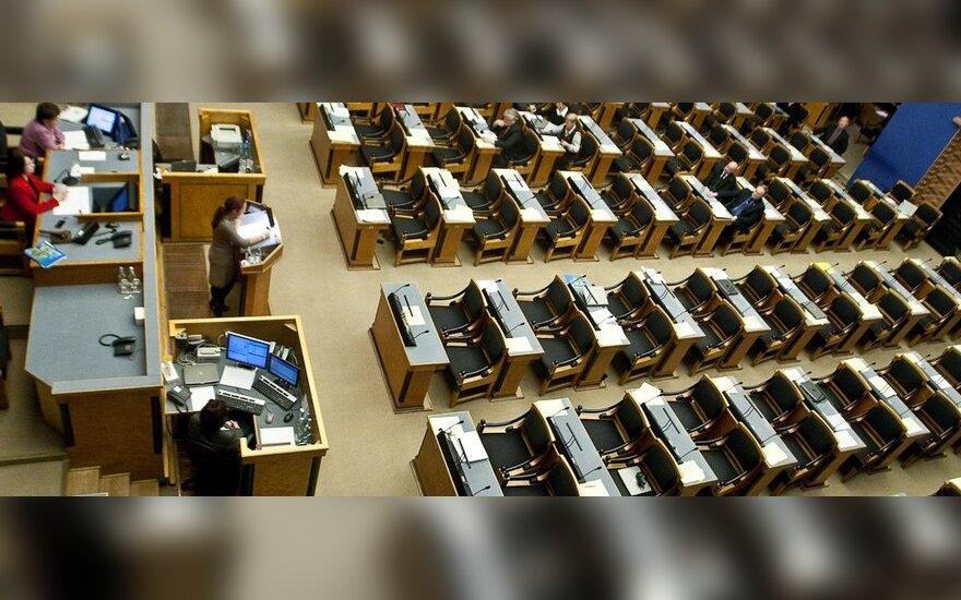 Estijos parlamentas atmetė pasiūlymą pereiti prie mokymo vien estų kalba