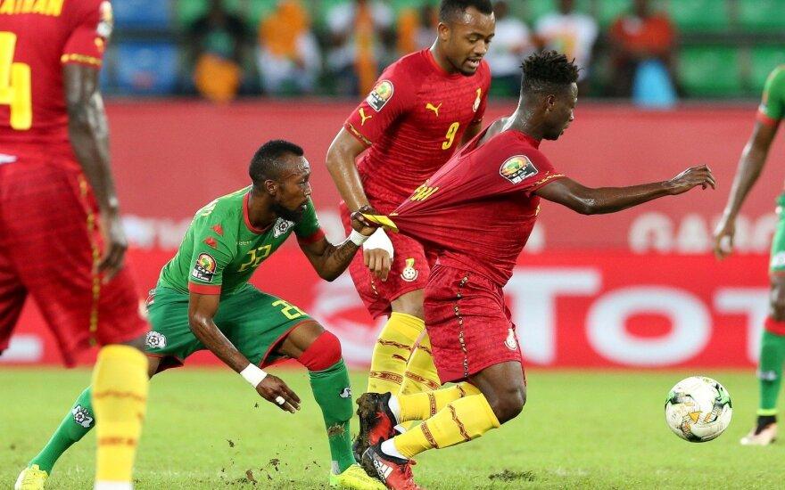 Afrikos čempionatas, kova dėl bronzos, Burkina Fasas - Gana