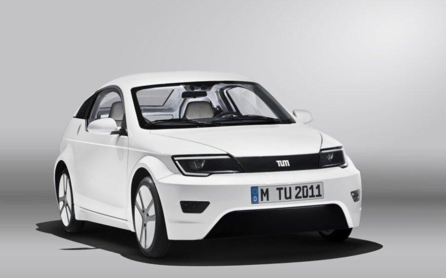 BMW ir Mercedes kuria nebrangų elektromobilį
